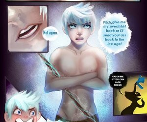 comic, jack frost, and fanart image