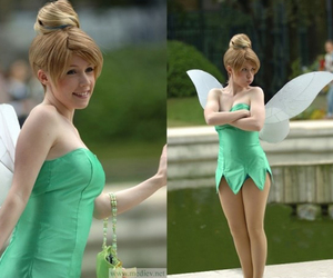 tinkerbell, disney, and funny image