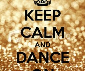 dance, keep calm, and hip hop image