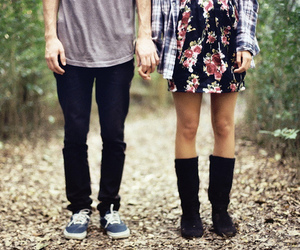 couple, love, and boy image
