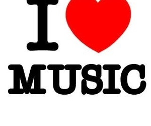 hearts, love, and music image