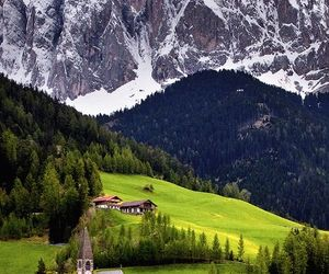 mountains, italy, and nature image