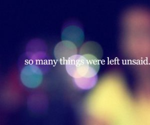 quote, text, and unsaid image