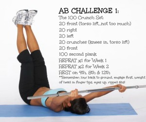 fitspo and abs workout image