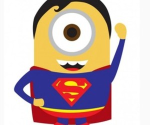 minions and superman image