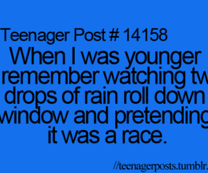 race, rain, and teenager post image