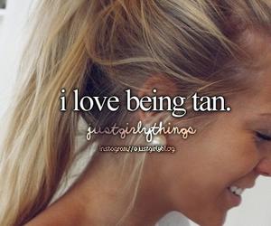 tan, summer, and love image