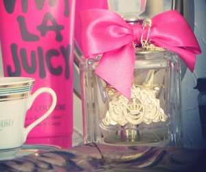 bow, golden, and juicy couture image