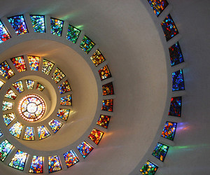 spiral and windows image