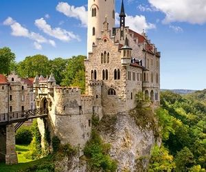 castle, fairytale, and summer image