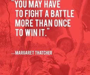 quote, battle, and fight image