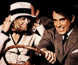 bonnie and clyde, Clyde, and Faye Dunaway image