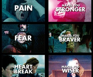 harry potter, life, and qoutes image