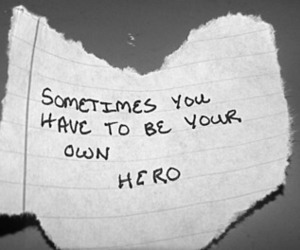 hero, quote, and inspirational image