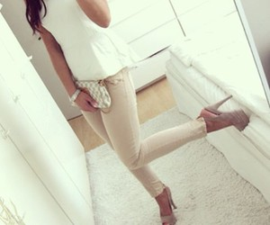 :), clothes, and high heels image