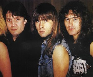 80s, Bruce Dickinson, and heavy image