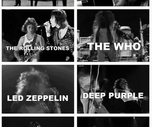 deep purple, Pink Floyd, and the who image