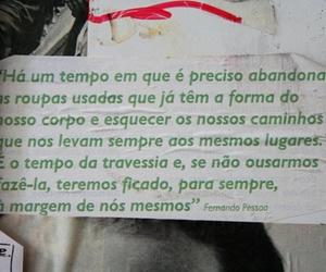 Fernando Pessoa and text image