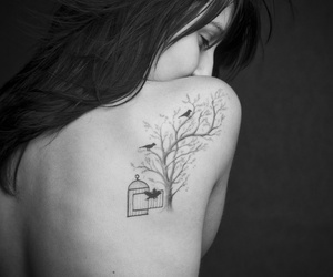 cage, free, and tattoo image