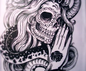 amazing, drawing, and teeth image