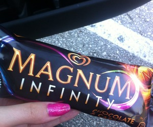 ice, Magnum, and summer image
