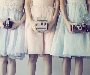 camera, dress, and girl image