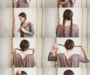 hairstyles, hairstyle tutorials, and fashion image