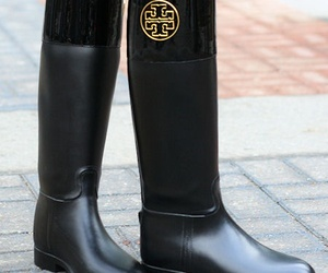 boots, accessories, and black image