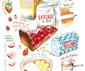 food, drawing, and illustration image