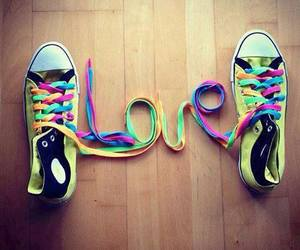 love, shoes, and converse image