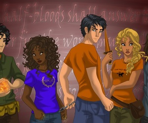 piper and percy jackson image