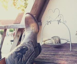 boots, fashion, and western image