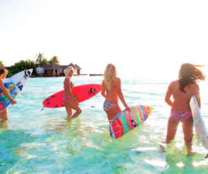 colorful, surfboard, and surfboards image