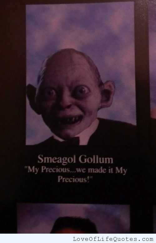 Smeagol Gollum Quote Love Of Life Quotes On We Heart It