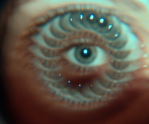 eye, eyes, and kaleidoscope image