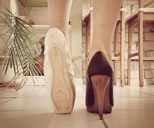 dance, photography, and shoes image