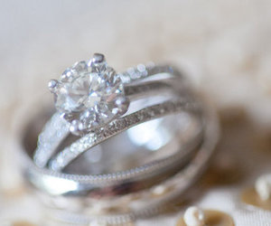 love, diamond, and accessories image