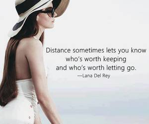 quote, lana del rey, and distance image