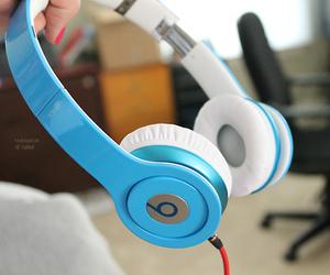 beats, music, and headphones image