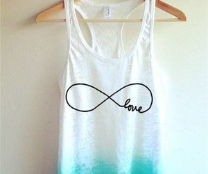 blue, infinity, and t-shirt image