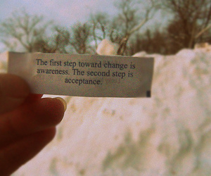 change, typography, and fortune cookie image
