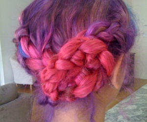 colors, girls, and hairs image