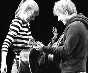 black and white, love, and sweeran image
