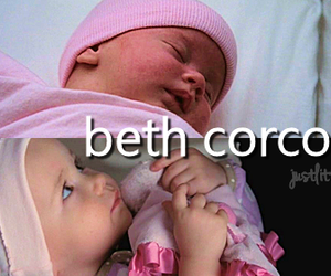 baby, Quinn, and glee image