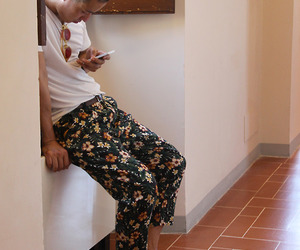 floral print and menswear image