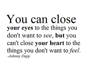 close, eyes, and quotes image