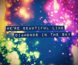 diamond, beautiful, and sky image