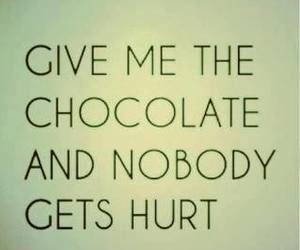 chocolate, quote, and text image