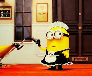 cleaning, despicable me, and despicable me 2 image