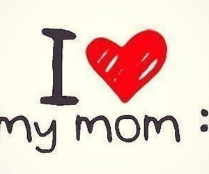 love and mom image